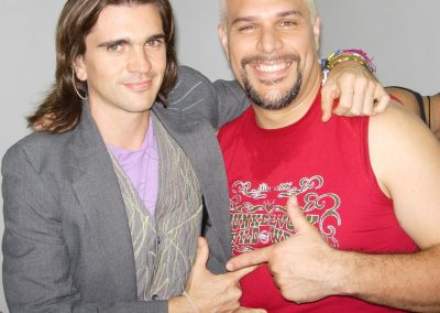 With Juanes
