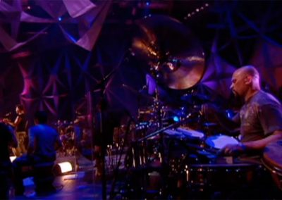 Performing with Ricky Martin MTV Unplugged