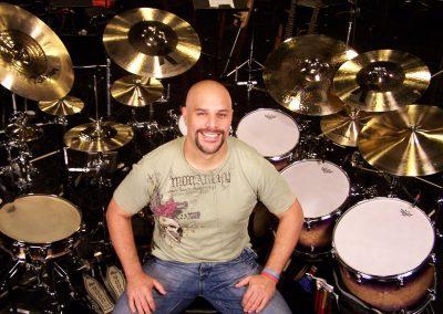 Madera's drum-set